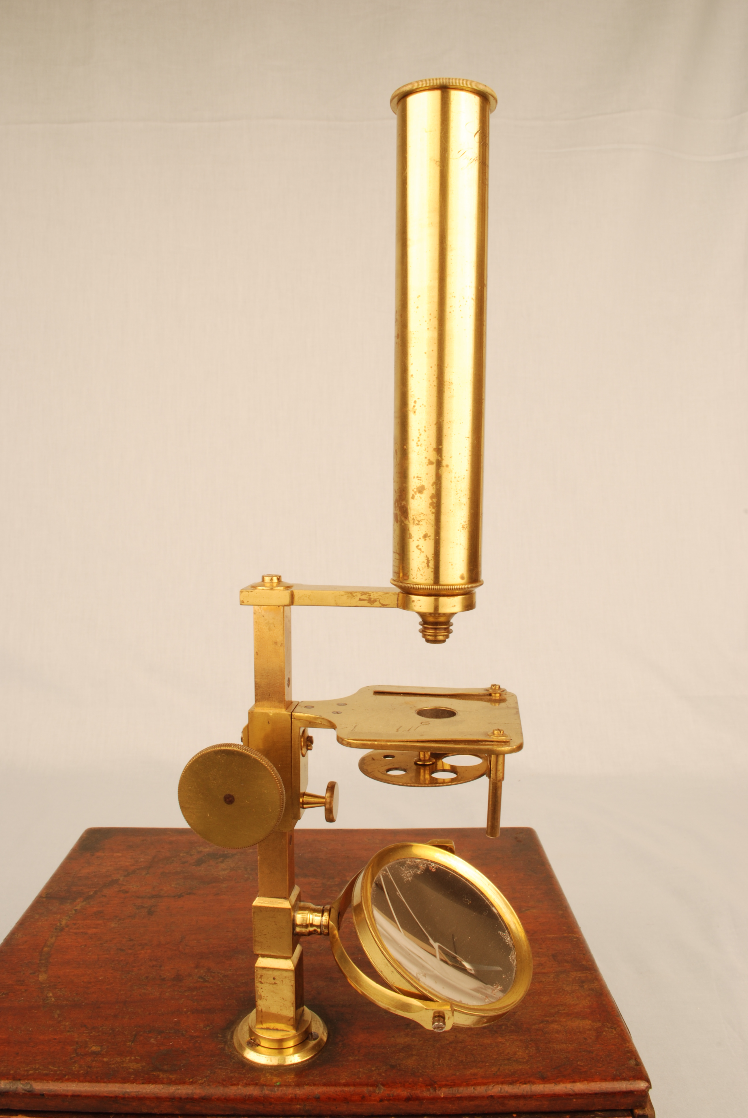 cary  gould microscope